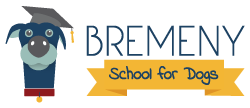 Bremeny School for Dogs | Dog Daycare, Training and Supplies Logo